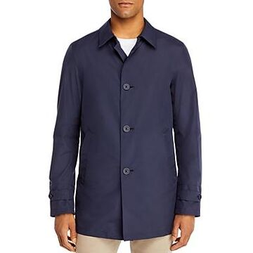 Herno Classic Fit Raincoat with Packable Bucket Hat