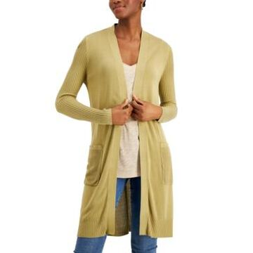 Inc International Concepts Ribbed Duster Cardigan, Created for Macy's