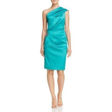 Eliza J Womens Embellished Sheath Cocktail Dress