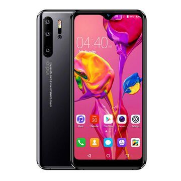 Indigi P1 Pro Android Pie SmartPhone, GSM Unlocked, 128GB - Obsidian Black(NEW) + Wireless Headset
