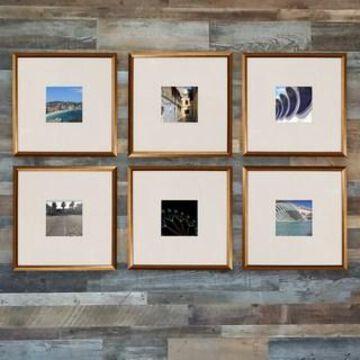 Copper 6-Piece Frame Set By Studio Decor