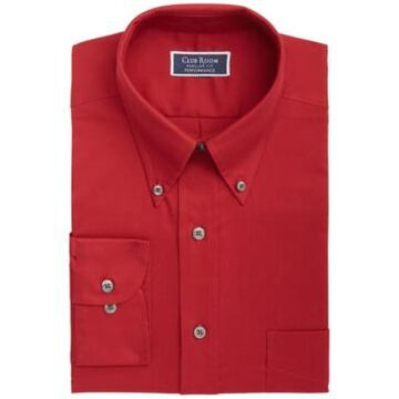 Club Room Men's Classic/Regular-Fit Performance Stretch Solid Dress Shirt, Created for Macy's