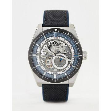 BOSS 1513643 Signature leather watch