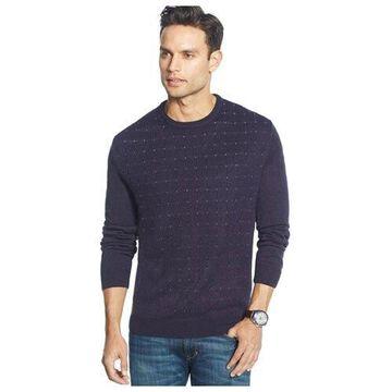 Tasso Elba Mens Pin Dot Pullover Sweater