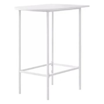Monarch 24 x 36 Home Bar, White Top and Metal Spacesaver