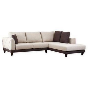 Abbyson Living Monica Sectional in Cream