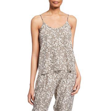 Lunar Leopard-Print Silk Camisole