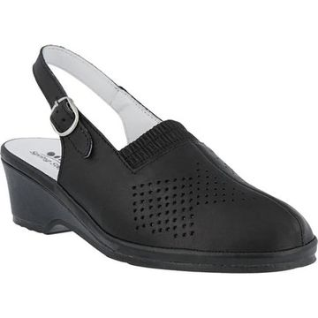 Spring Step Women's Gina Black Leather