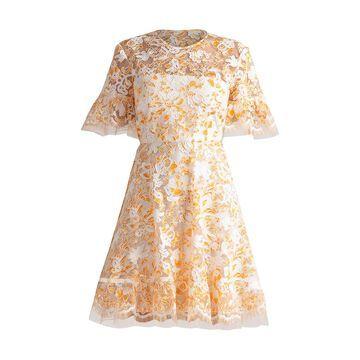 Shoshanna Sola Lace A-Line Dress