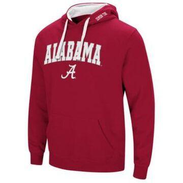 Colosseum Men's Alabama Crimson Tide Arch Logo Hoodie
