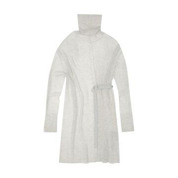 Helmut Lang Strap Detail Sweater Dress