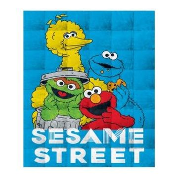 Sesame Street 4.5lb Weighted Blanket Bedding