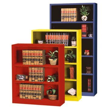 Sandusky Lee Heavy Duty Commercial Metal Bookcase