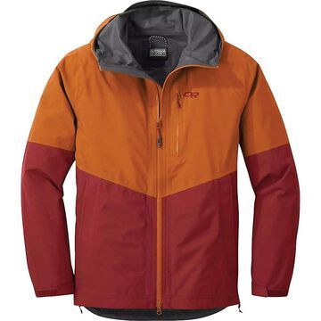 Outdoor Research Men's Foray Jacket - Small - Umber / Madder