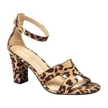 Andrew Geller Womens Quizzical Heeled Sandals