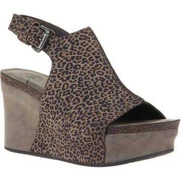 OTBT Women's Jaunt Slingback Sandal Stone Leather