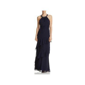 Eliza J Womens Formal Dress Embellished Halter
