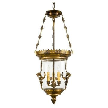 Metropolitan N2336 3 Light Urn Pendant from the Foyer Collection