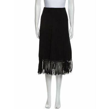Vintage Knee-Length Skirt Wool