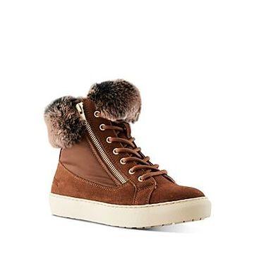 Cougar Women's Danica Waterproof Rabbit Fur Sneakers