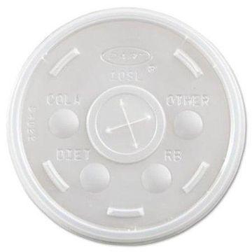 Dart Plastic Translucent 10 oz. Cold Cup Lids, 1000 count