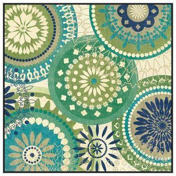 PTM Images Floral Mix II Framed Canvas Art, 41.75