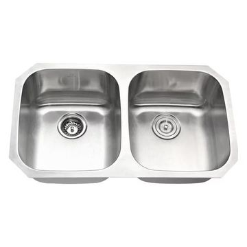 ANZZI Moore Undermount Stainless Steel Kitchen Sink w/Soave Faucet
