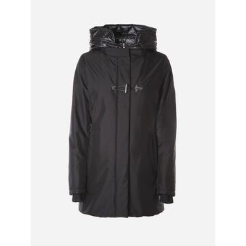 Fay Parka With Frogs In Technical Fabric