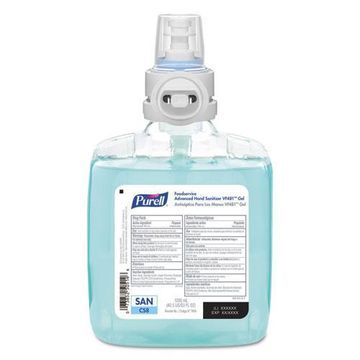 Gojo Purell Foodservice Advanced Hand Sanitizer VF481 Gel