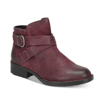 Born Womens Chaval Leather Closed Toe Ankle Fashion Boots