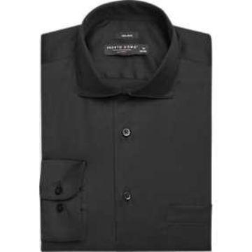 Pronto Uomo Black Dress Shirt