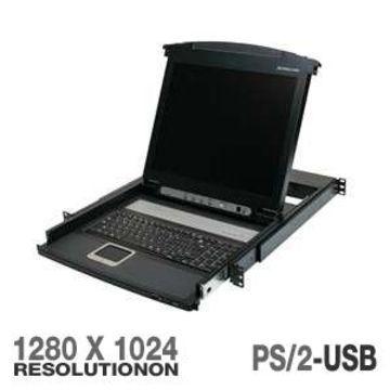 IOGEAR GCL1800 17 LCD Combo Console