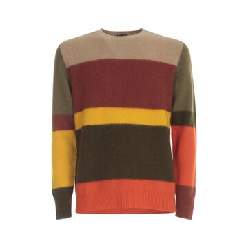 Drumohr Wool Striped Sweater Geelong