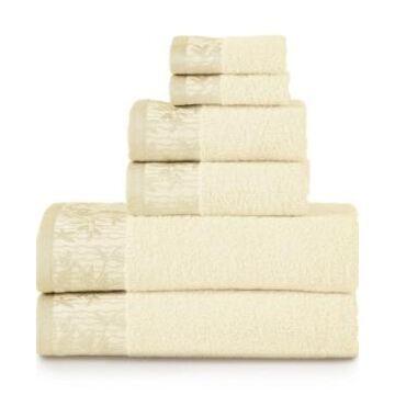 Superior Wisteria Towel Set, 6 Piece Bedding