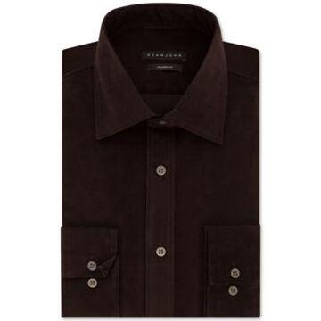 Sean John Men's Classic/Regular Fit Solid Dress Shirt
