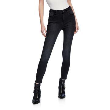 High-Waist Freebird II Faded Jeans