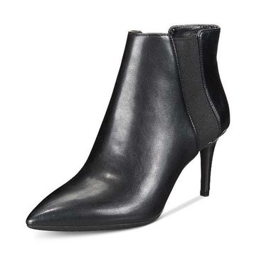 INC International Concepts Womens Irsia Pointed Toe Ankle Chelsea Boots
