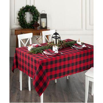 "Elrene Farmhouse Living Buffalo Check Tablecloth - 60""x 102"""