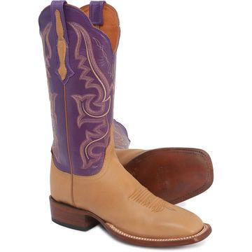 Lucchese Harlow Cowboy Boots - Goat Leather, W-Toe (For Women)