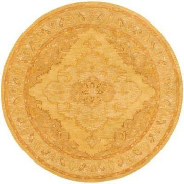 Artistic Weavers Middleton Meadow 6-Foot Round Area Rug in Tan