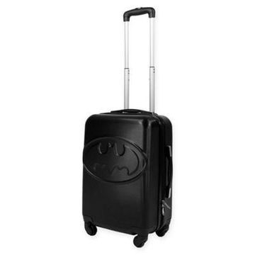 DC Comics 21-Inch Hardside Spinner Carry-On Luggage in Black