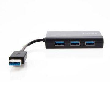 Targus 3-port USB/Ethernet Combo Hub