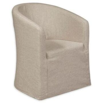Pulaski Slipcover Accent Chair in Beige