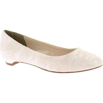 Touch Ups Women's Yvette White Satin/Lace