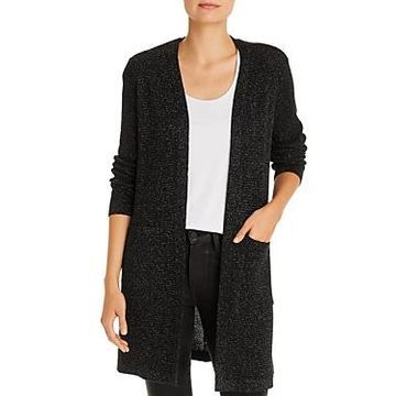 Eileen Fisher Metallic Long Cardigan