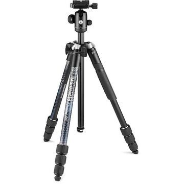 MAN-MKELMII4BKBH Element MII Lightweight Aluminum Tripod for DSLRs, CSCs & Compact Cameras - Black