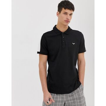 Threadbare polo shirt with cut and sew panels
