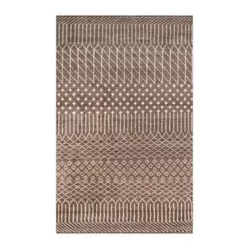 Momeni Atlas 9'6 X 13'6 Hand-Knotted Area Rug In Brown