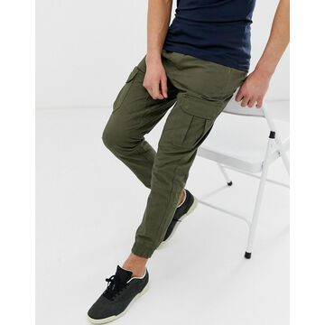 Another Influence slim fit cuffed cargo