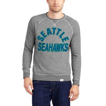 Seattle Seahawks Junk Food Formation Fleece Sweatshirt - Heathered Gray